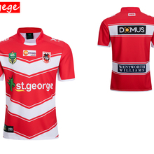 7e4ad97d217 Australia 2018 ST GEORGE ILLAWARRA DRAGONS HOME rugby Jerseys NRL National  Rugby League nrl Jersey shirt
