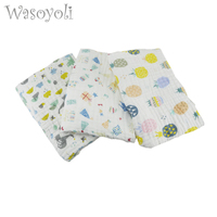 Baby Swaddles 75 85cm One Layers Newborn Baby Colorful Soft Blankets Spring Autumn Gauze Bath Towel