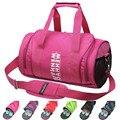 Pink VS  traveling bag Nylon Bag Professional Men&Women Fitness Shoulder Gym Bag Large Capacity Ultralight Foldable Duffel Bag