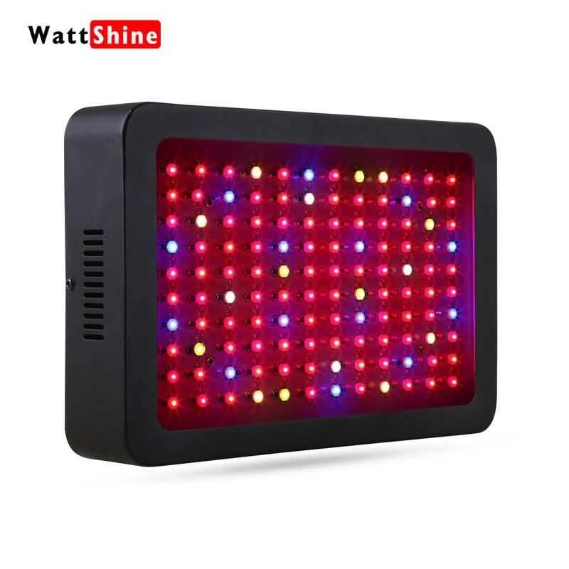 LED à spectre complet élèvent des lumières 360 w LED lampe hydroponique pour les plantes d'intérieur croissance des plantes de serre végétale poussent lumière russe