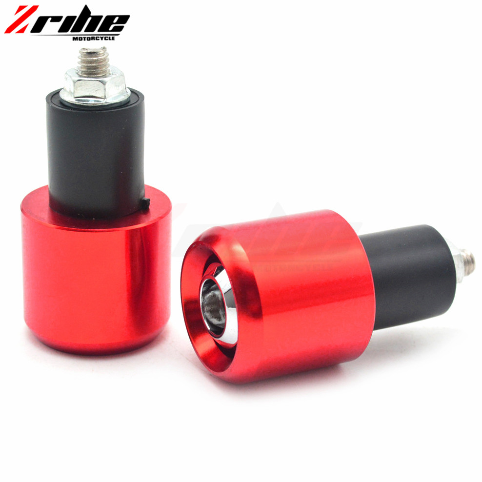for 22mm  7/8 Motorcycle Aluminum Handlebar Grips Bar Ends Sliders for Suzuki GSXR 600 750 1000 TL1000S K1 K2 K3 K4 K5 K6 K7
