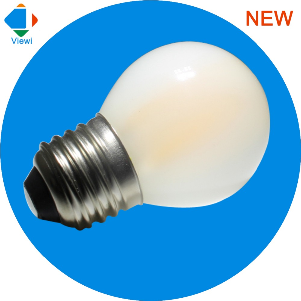 6x led e27 bulb lamp dimmer 110v 220v Frosted shell G45 2W 4W 6W filament bulbs bombilla dimmable energy saving lampe for home led smart emergency lamp led bulb led e27 bulb lights light bulb energy saving 5w 7w 9w after power failure automatic lighting