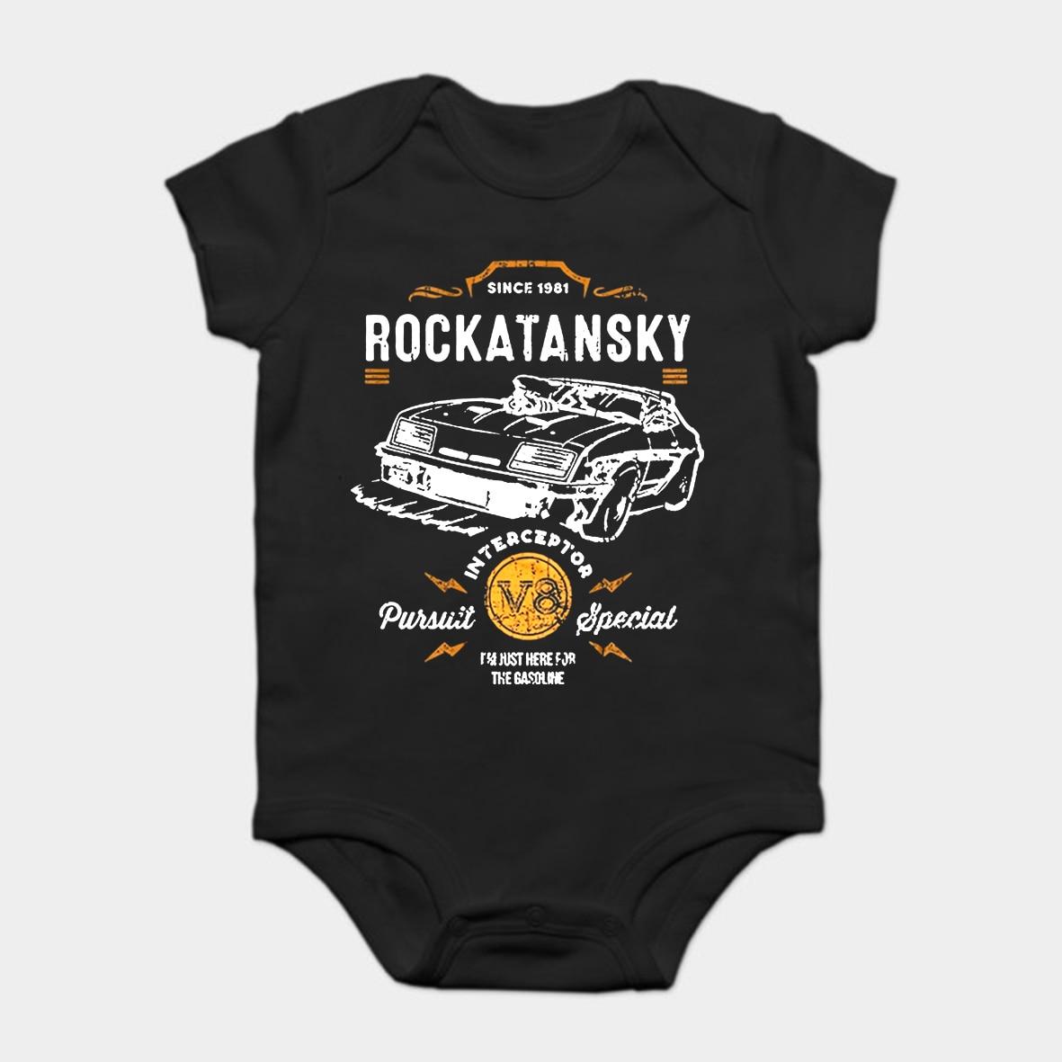 Baby Onesie Baby Bodysuits Kid T Shirt Mad Max Mfp Force Fury Road Verfolgung Interceptor V8 Elegant Shape
