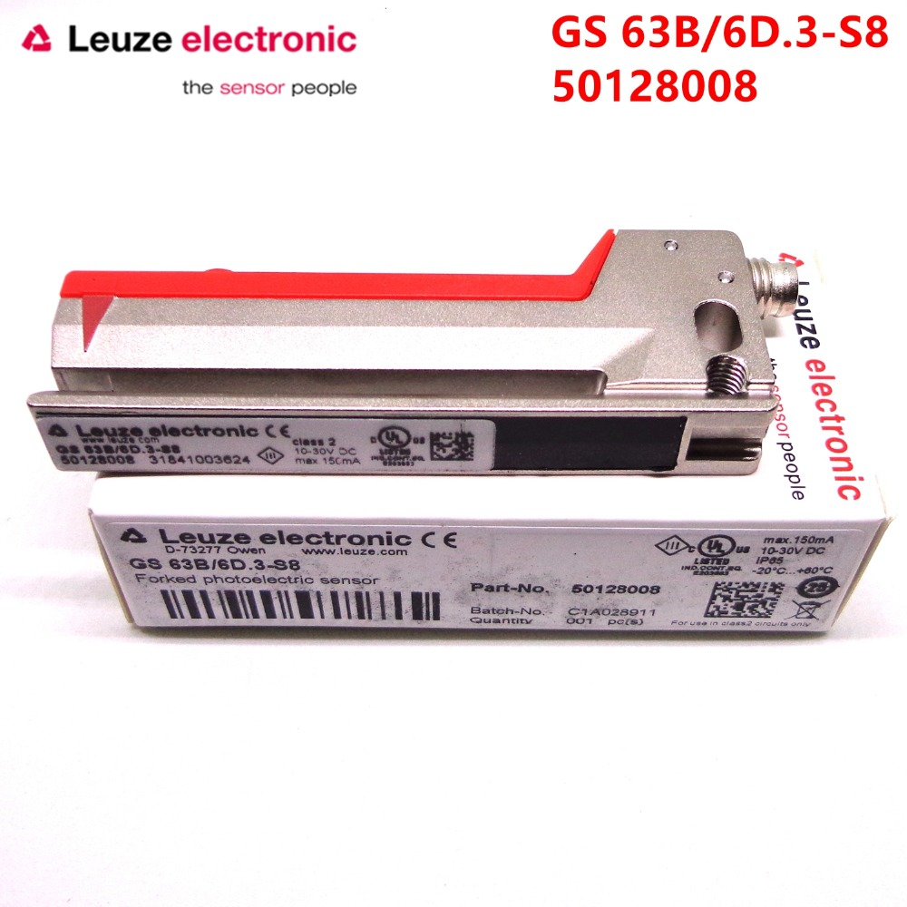 Leuze electronic GS 63B/6D.3-S8 50128008 Brand new original Leuze electronic GS 63B/6D.3-S8 50128008 Brand new original