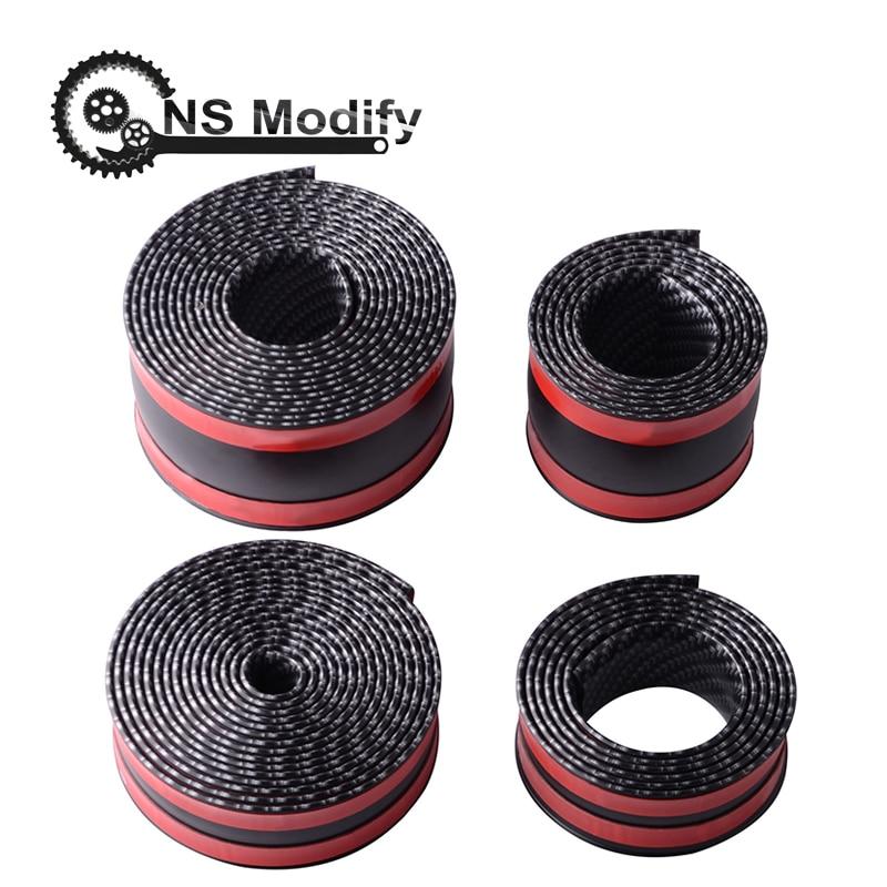 Ns Modify 5d Carbon Fiber Style Car Scuff Plate Door Sill