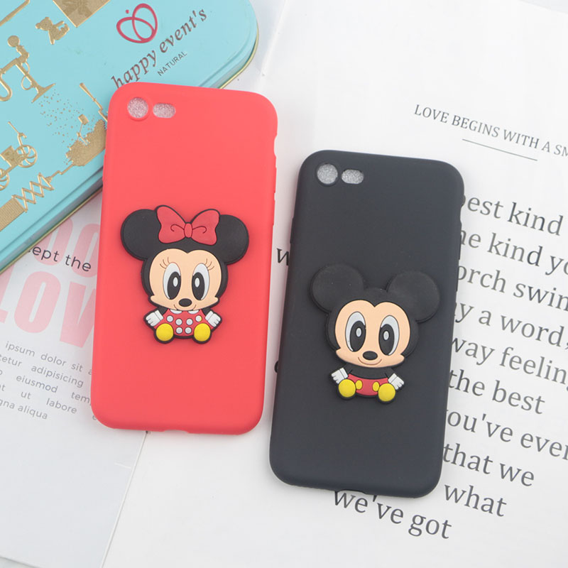 Cute Cartoon Minnie Mickey Case For Google Pixel 2 Pixel2 XL Cases Soft Silicon Phone Cover