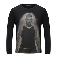 True Reveler David Beckham men sweaters fashion autumn winter tops asian size M-XXL