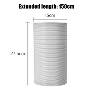 """Image 4 - 1.5M Universal Exhaust Hose Tube Ventilation Pipe For Portable Air Conditioners 6"""" Vent Hose Part Telescopic Intake Exhaust Duct"""