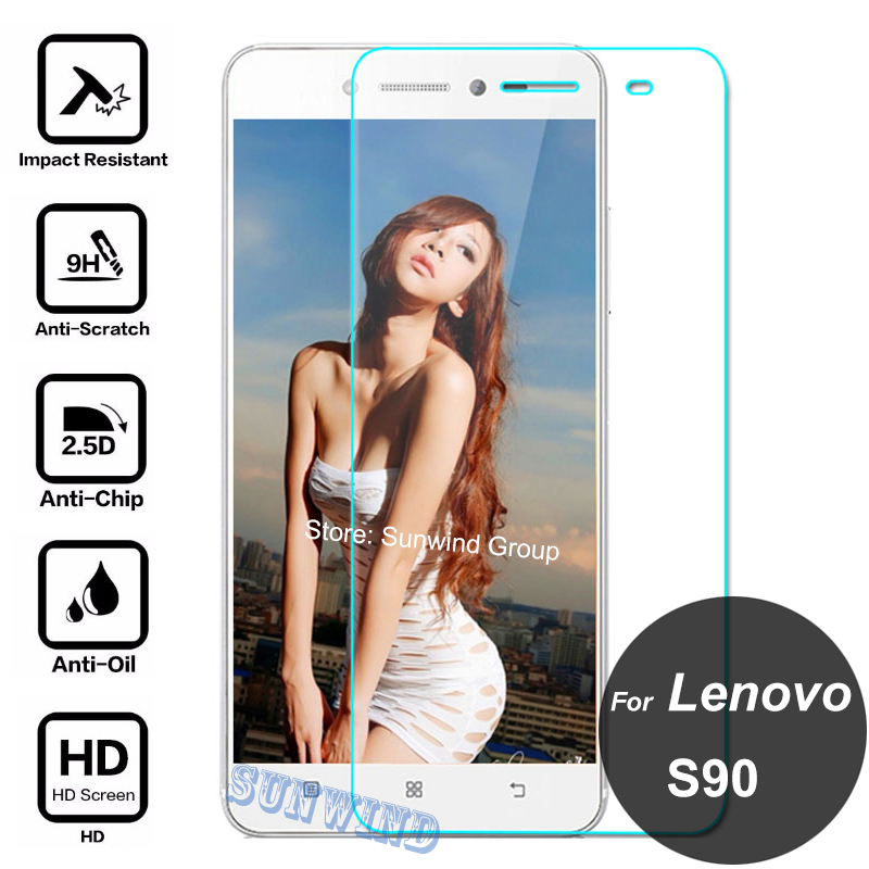 For Lenovo S90 Tempered Glass Screen Protector 9H 2.5D Safety Protective Film On S 90 S90-U S90-L Sisley S90-E Dual Sim