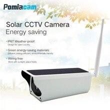 Солнечная мощность водостойкая наружная камера безопасности 1080 P Wifi Беспроводная ip-камера мобильный телефон пульт дистанционного управления PIR Motion CCTV камера