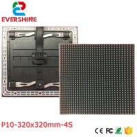 Precio Servicio frontal P10 led de exterior RGB a todo color 320x320mm 1 4scan LED altamente impermeable