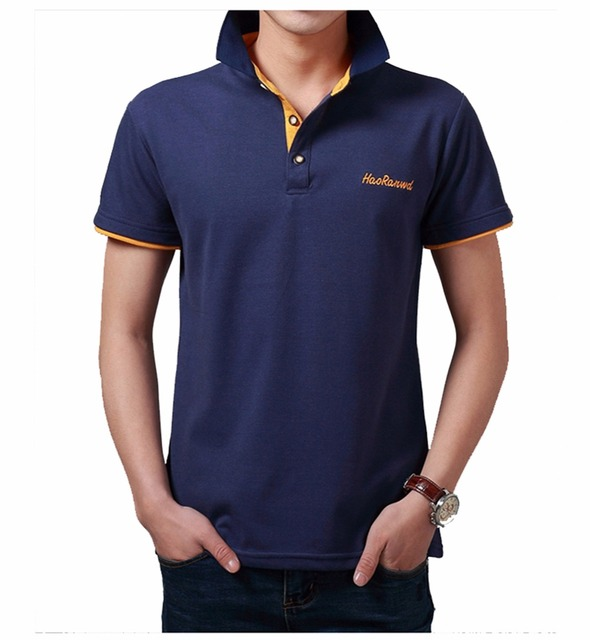 2016 summer Polo shirt men England Style polos brand clothing