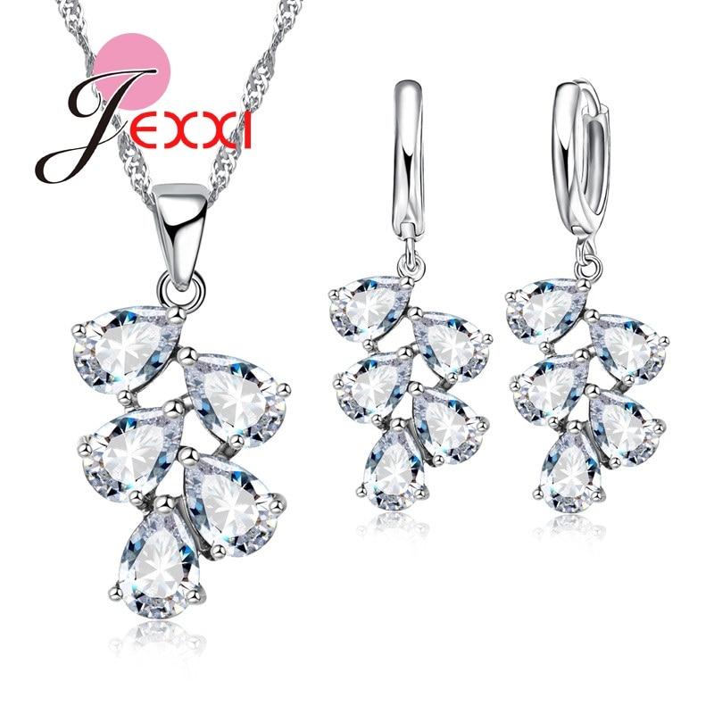 PATICO fijne 925 Sterling zilveren sieraden set voor vrouwen Lady - Mode-sieraden - Foto 3