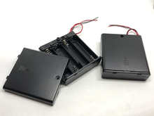 купить MasterFire 10pcs/lot 6V 4 X AA Battery Holder Case Slot Holder Plastic Storage Box With OFF/ON Switch Wires For RC Parts по цене 939.81 рублей