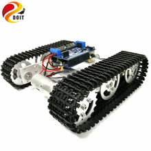 DOIT Mini T100 Crawler Metal Tank Robot Chassis with Arduino Wireless WiFi Controller Kit for Modification RC Toy by APP Phone(China)