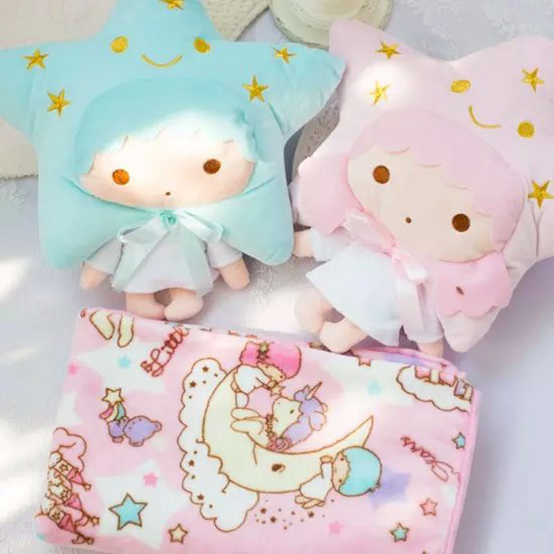 candice guo! Super cute plush toy little twin stars couple star girl boy cushion pillow blanket birthday gift 1pc candice guo metoo angela girl plush toy doll small crossbody bag coin purse deer rabbit girl styles birthday gift 1pc