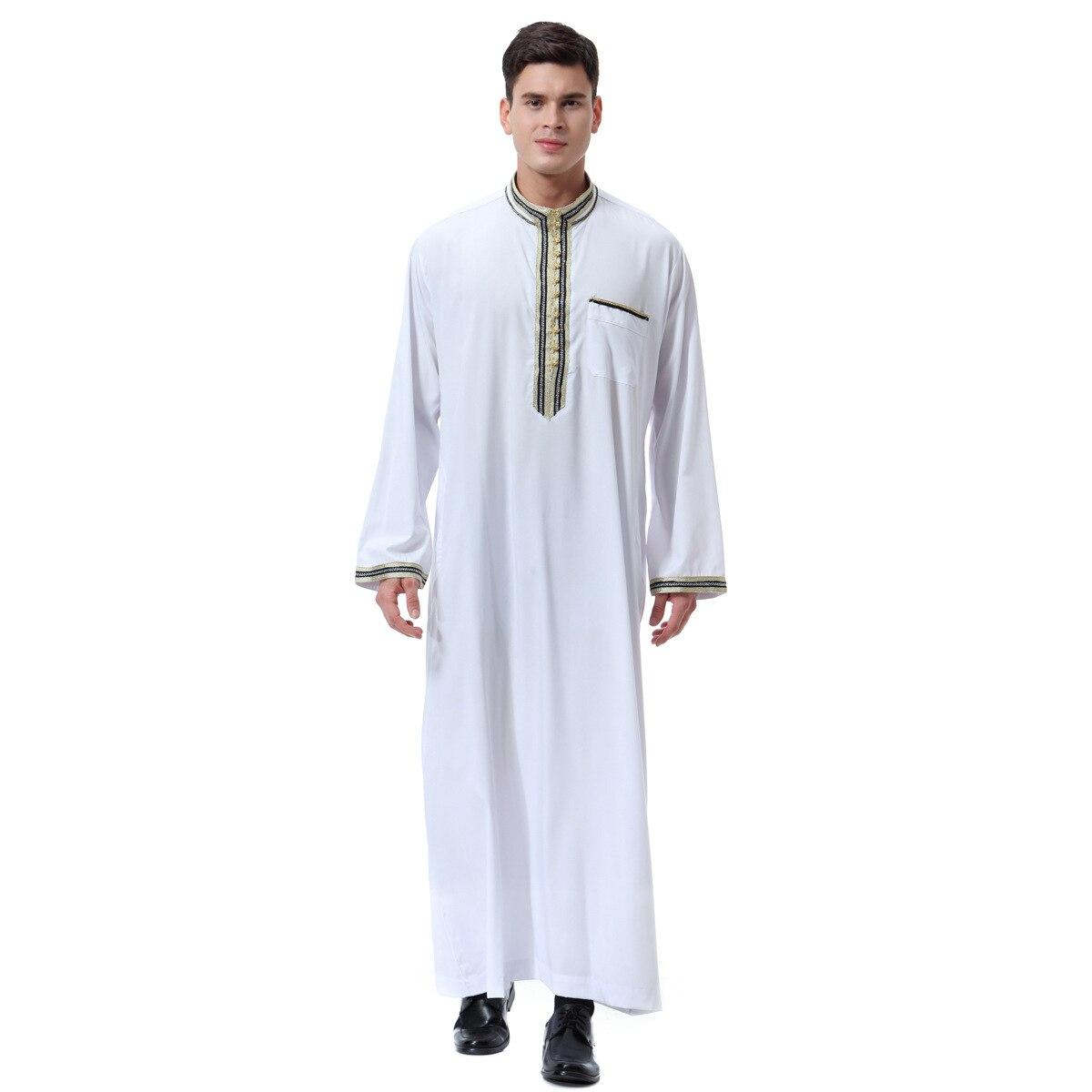 Moroccan kaftan Men Muslim Dres Abaya Set Formal Dress