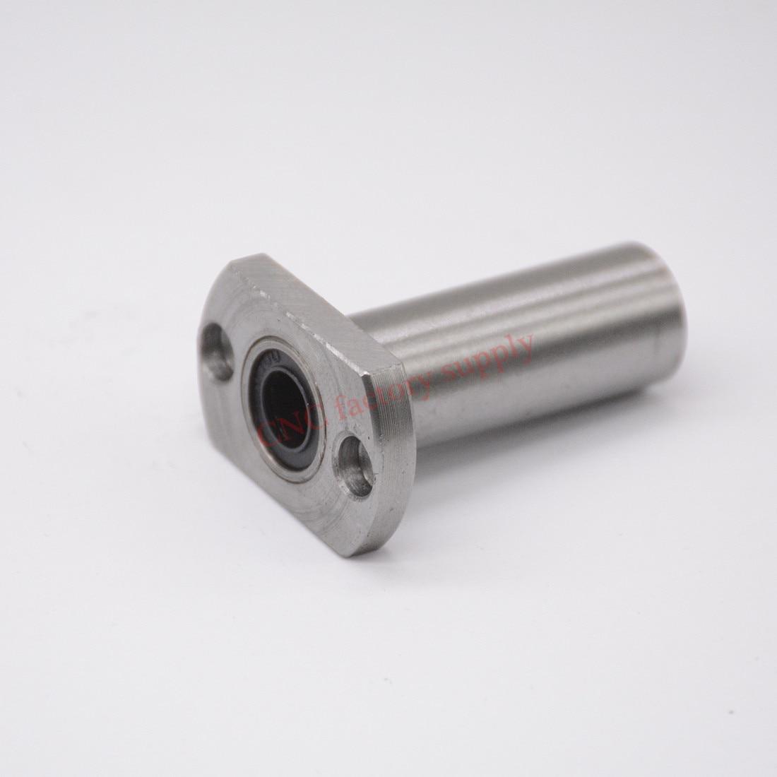 Hot sale 1 pc LMH6LUU 6mm long type flange linear bearing CNC Linear Bush hot sale cayler