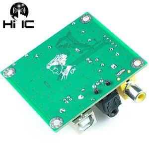 Image 4 - HIFI CM6631A Digitale Schnittstelle DAC 24Bit 192 Karat Soundkarte USB spdif Coaxial Ausgang Verbinden Decoder Nicht Unterstützung DTS
