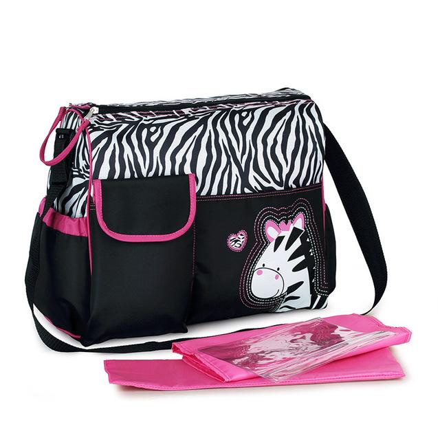 6 Colores de Gran Capacidad de la Bolsa de Mamá Bebé Bolsas de Pañales de Moda multifuncional bolsa de Maternidad De Enfermería Sola Mochila Pañal Del Bebé bolsa