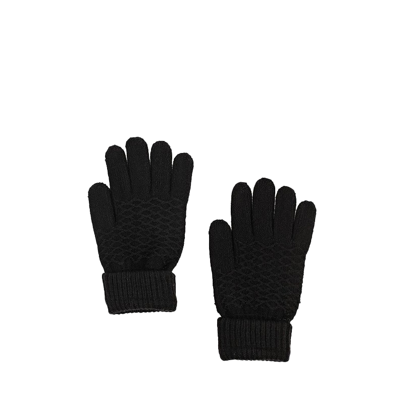 Gloves & Mittens MODIS M182A00510 Hand Warmer Knitting Winter Gloves for female for woman TmallFS terror female ghost gloves black white pair