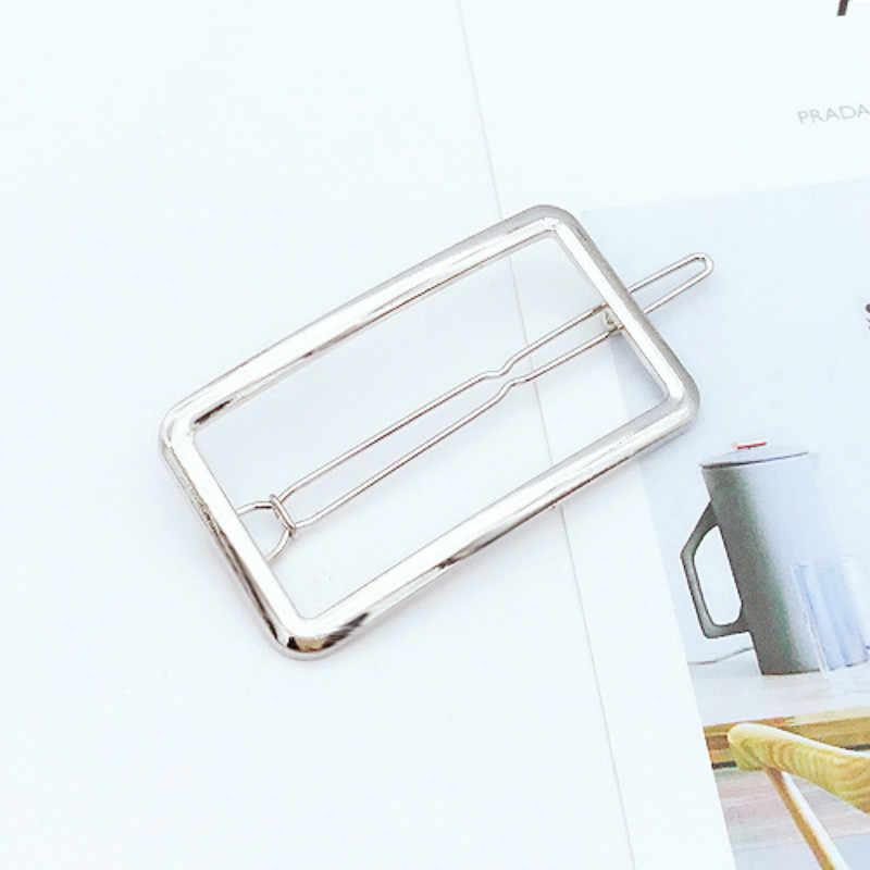 1 Pcs Fashion Dorato Stelle Clip di Capelli per Le Donne Elegante Coreano di Design A Scatto Barrette Dei Capelli del Bastone Tornante Accessori per Lo Styling