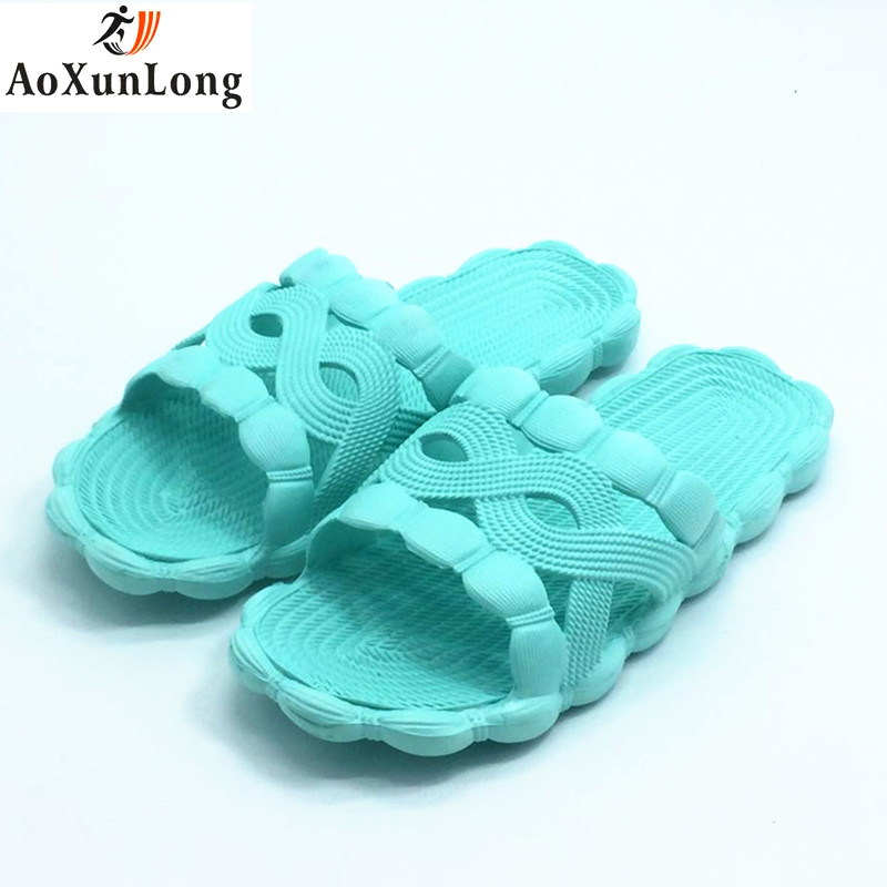 Summer Slippers Women Indoor Bathroom Home Slippers Slide Beach Slippers Blue Pink Women Shoes Size 39-40 Flip Flops pantufa 8 7 marlong summer beach slippers women slippers bathroom no slide slipper indoor home shoes women flip flops sandals pantufa