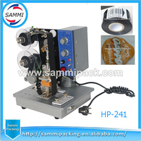 Free Shipping 100 Warranty Ribbon Hot Stampping Coding Machine Batch Number Date Code Printer Date