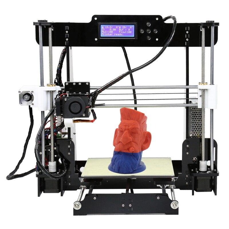 Anet A8 Auto A8 Cheap 3D Printer 0 4mm Extrude Nozzle Machine Reprap I3 Prusa 3D