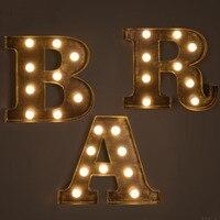 Ретро гладить Лампы для мотоциклов творческий бар фон декоративные светодиодные буквы свет billboard логотип настенный светильник настенный у
