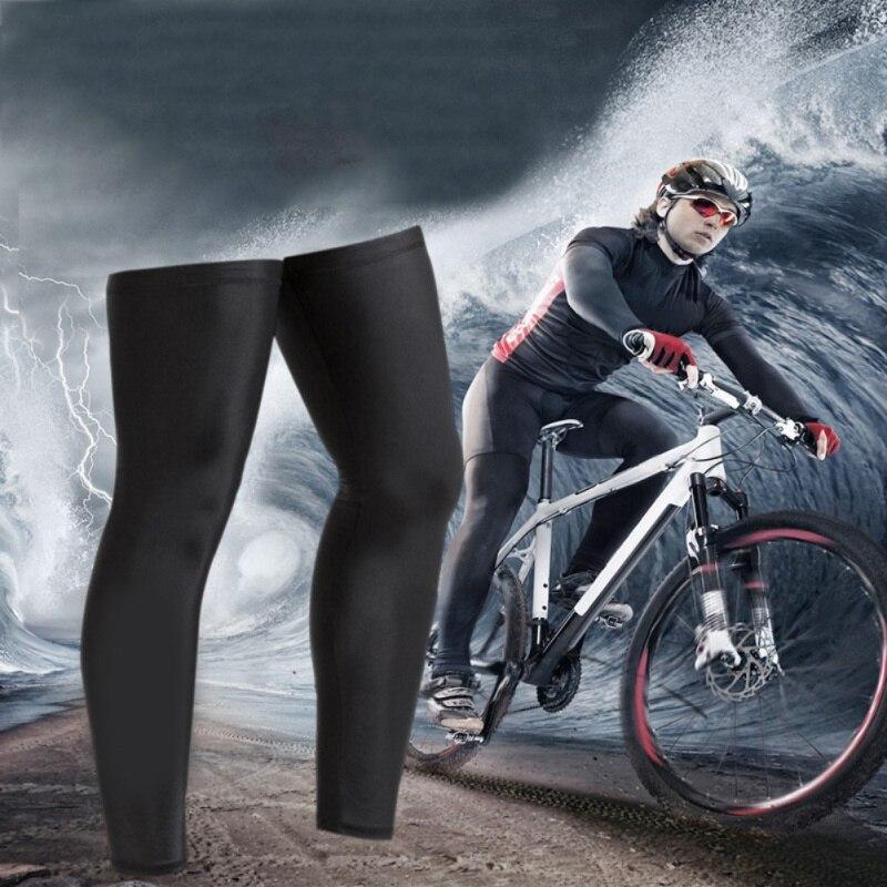 Cycling Pants Unisex Cycling Leg Warmers Winter Windproof Mountain Road Bike Bicycle Cycle Riding Leggings