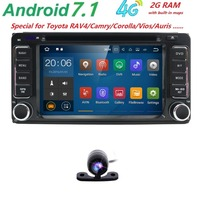 Android 5 1 DVD Player For Toyota Universal RAV4 COROLLA VIOS HILUX Terios Land Cruiser 100