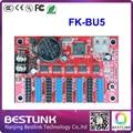 Led FK-BU5 светодиодный контроллер карты 64*1024 ПИКСЕЛЕЙ привело плату управления для открытый светодиодный экран программируемый водить такси вверху знак diy