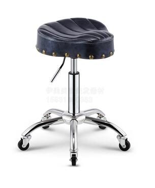 Купить с кэшбэком New style saddle chair. Barber shop hairdressing chair. Beauty stool lift explosion-proof tattoo technician chair..