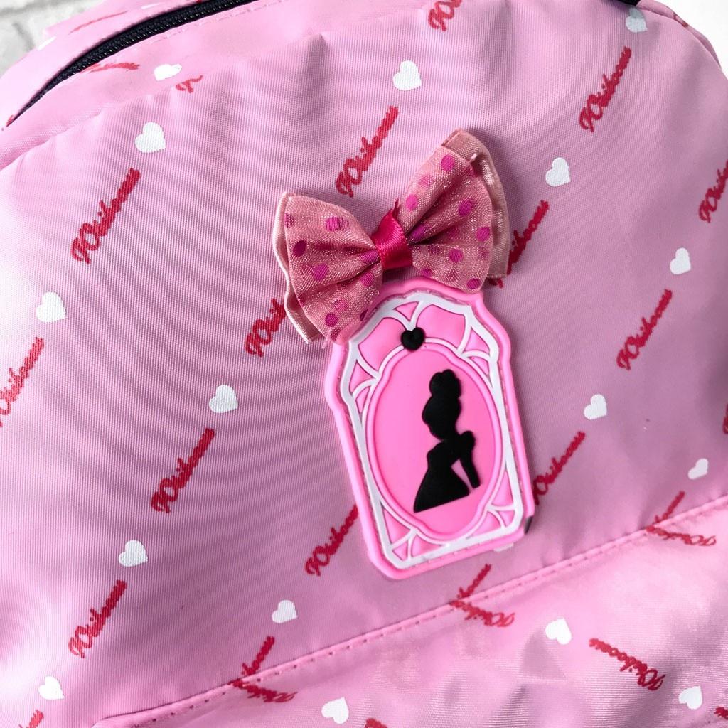Women Bow Canvas Three-piece School Bag 42