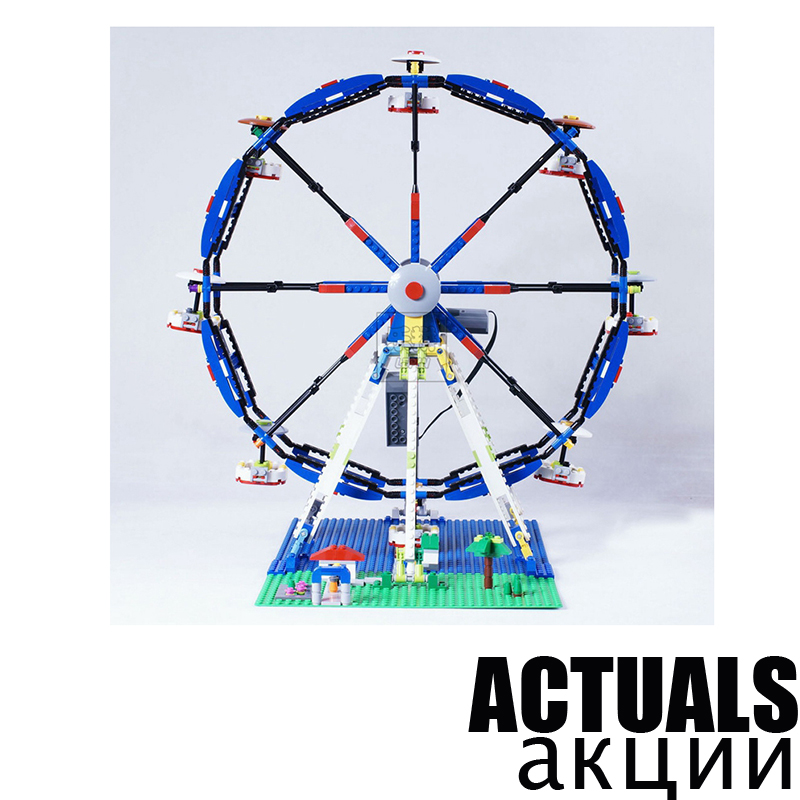 LEPIN 15033 Classic Ferris Wheel Street Creator Building Blocks Bricks Toys Enlighten For Children Compatible with legoINGly a toy a dream lepin 15008 2462pcs city street creator green grocer model building kits blocks bricks compatible 10185