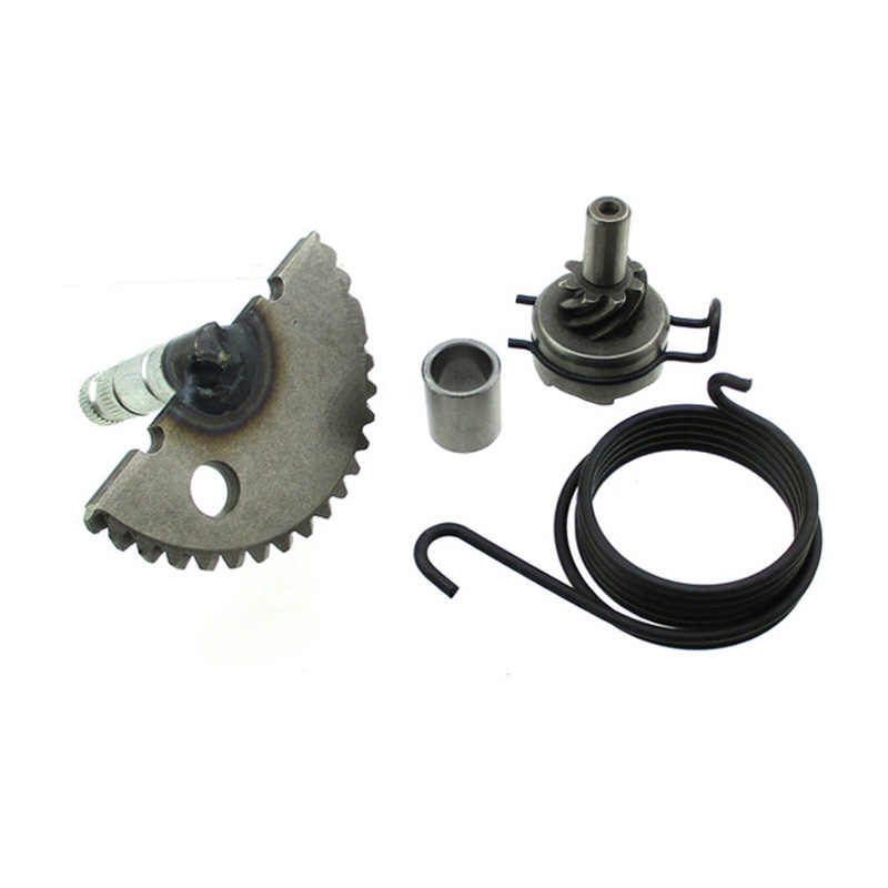 XLJOY Kick Starter Start Gear Assembly For 49cc 50cc 60cc 80cc 100cc GY6  139QMB P139QMB 4 stroke engine Scooter Moped