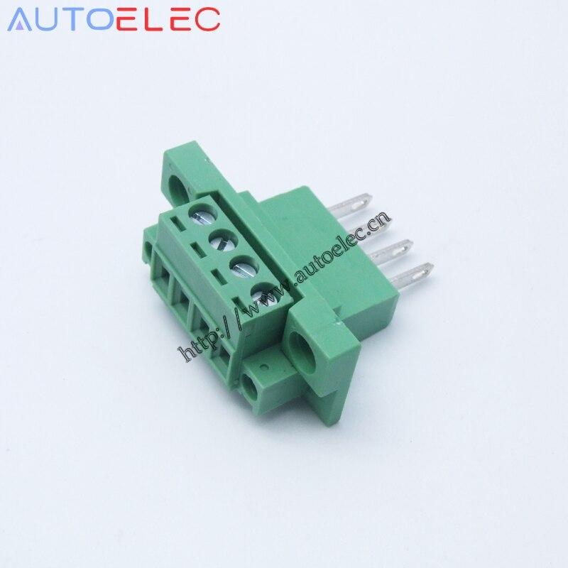 Placas de circuito impreso los conectores o enchufes-mstb 2,5//6-st 6-polos-rm 5mm-Verde