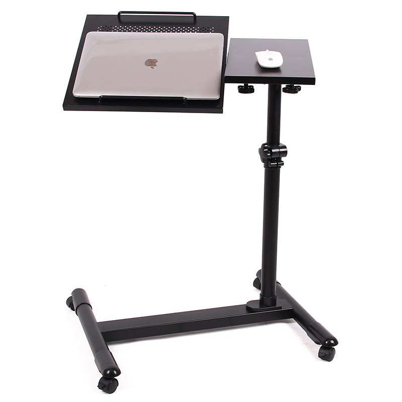 Simple double lazy comter notebook font b laptop b font desk side cooling bed table FREE
