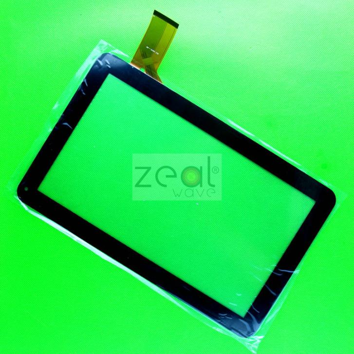 10 Pcs Replacement Digitizer Touch Screen Glass For 10.1 Tablet QLT 1007C-PW  Touch  Panel 50 PINS replacement lcd digitizer capacitive touch screen for lg vs980 f320 d801 d803 black