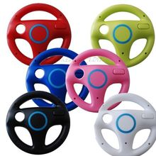 Hot Sale Steering Wheel Kart Racing Games Remote Controller For Nintendo Wii Free Shipping O25