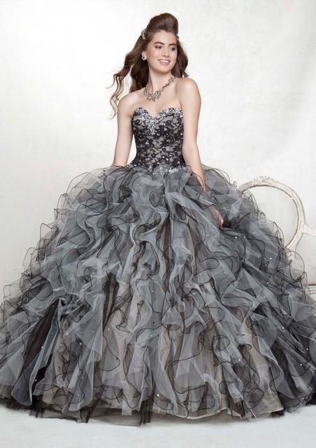 Saias destacáveis Vestidos Quinceanera Bola Vestidos Vestido Para 15 Anos Doce 16 Vestidos Para Festa De Aniversário