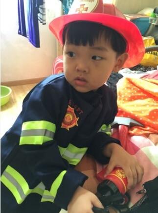 110-160 cm 2 colors 1Set Kid Child Halloween Christmas Cosplay Firefighter Fireman Costume