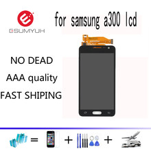 A300 LCD a300f lcd For SAMSUNG Galaxy A3 2015 lcd Display A3000 A300M A300F LCD Display Touch Screen Digitizer Assembly Parts(China)