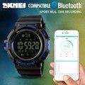 Marca de luxo bluetooth smart watch câmera remota pedômetro calorias rastreador de fitness esportes homens relógios para android ios
