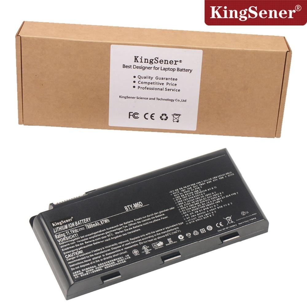 Prix pour KingSener 11.1 V 7800 mAh Batterie D'ordinateur Portable BTY-M6D Pour MSI GT660 GX660 GT663 GT683 GT685 GT70 GT780 GT780R GT783 GX60 GX660 9 CELLULAIRE