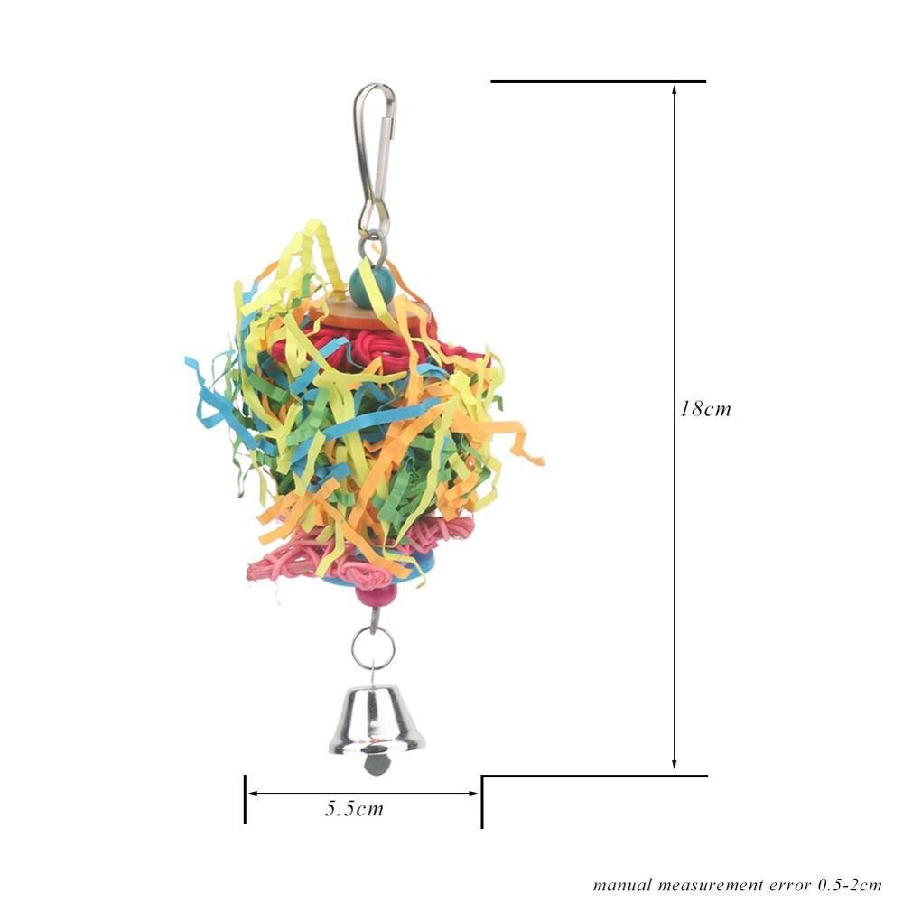 PipiFren попугаи игрушки и аксессуары для птиц игрушки для домашних животных качели стенд волнистый Попугайчик клетка африканский серый vogel speelgoed parkiet - Цвет: 28