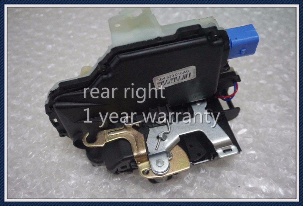 high quality 3B4839016AG REAR RIGHT SIDE DOOR LOCK ACTUATOR MECHANISM FOR VW POLO 9N VW T5 TRANSPORTER CARAVELLE MULTIVAN