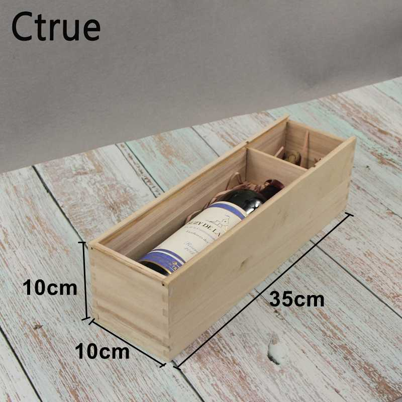 Custom Rustic Wedding Wooden Wine Box Personalized Engraved Wooden Box Ring Box Wedding Decoration Customized Wedding Gift