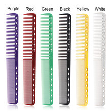 Peignes professionnels pour Salon de coiffure, 6 couleurs, brosse pour couper les cheveux, antistatique